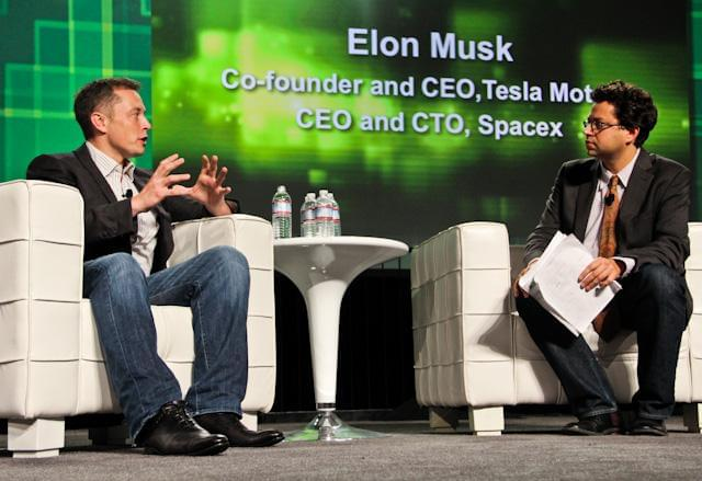 Elon Musk at TechCrunch Disrupt