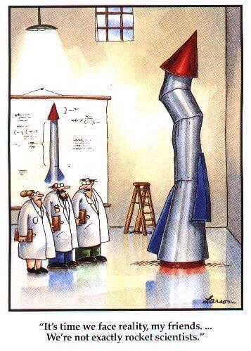 rocket scientist sales forecasting