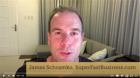 James Schramko talking about how Putler's analytics help him manage and grow his online business